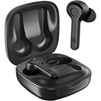 Boltune BH020 In-Ear Bluetooth Earbuds Headphones with Charging Case (Black)