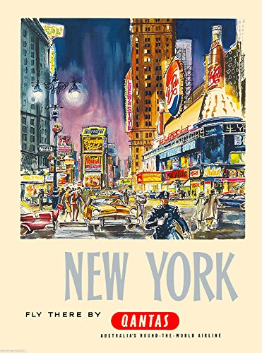 new-york-fly-by-qantas-united-states-of-america-travel-advertisement-art-poster