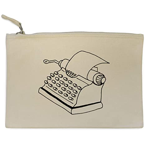 Azeeda Máquina de Escribir Bolso de Embrague / Accesorios Case (CL00011111)