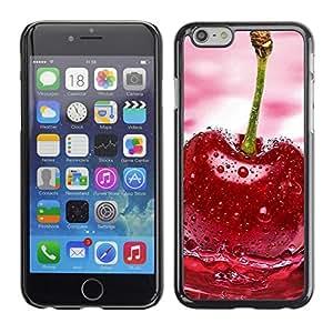 LECELL -- Funda protectora / Cubierta / Piel For Apple iPhone 6 Plus 5.5 -- Fruit Wet Cherry --