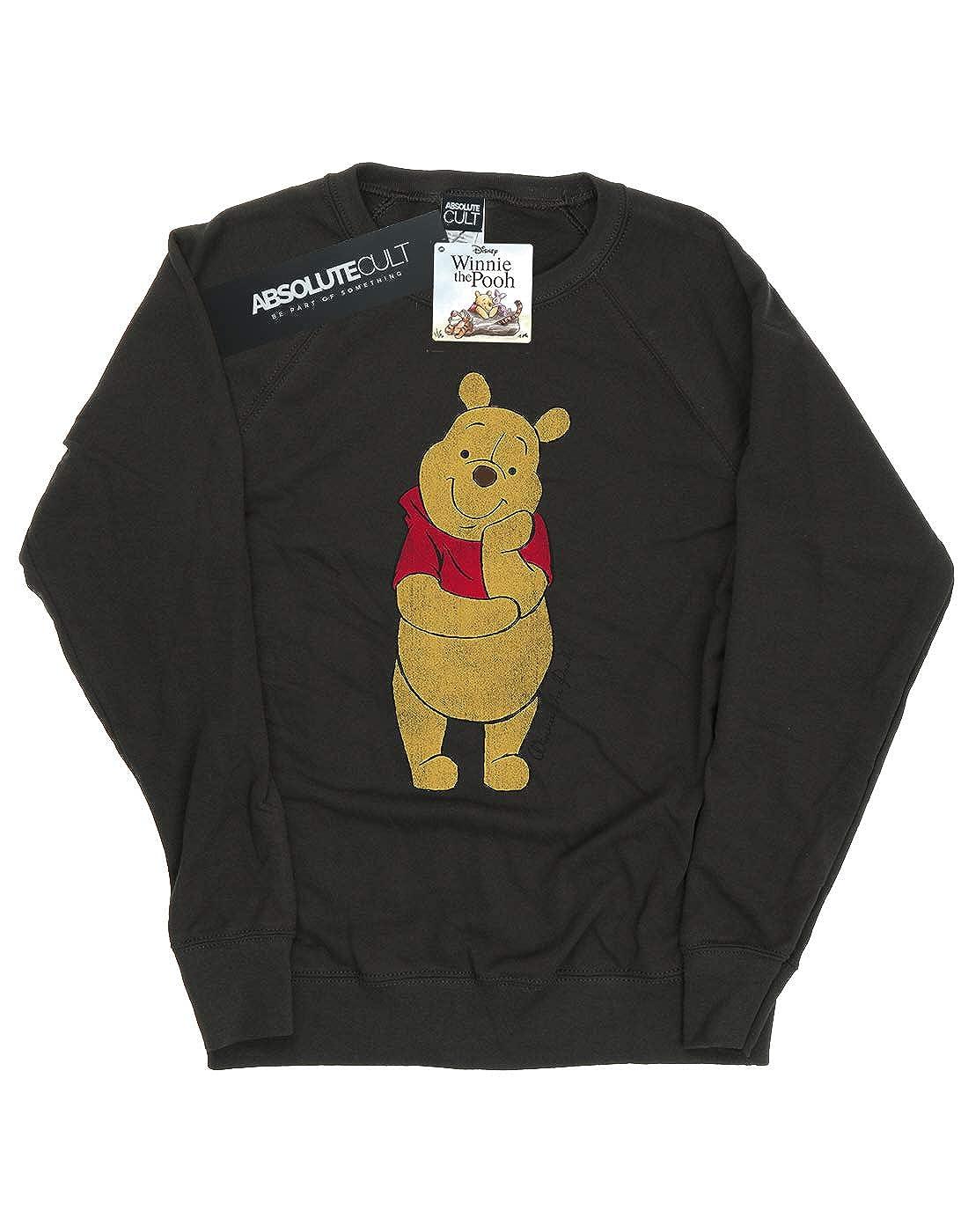 332e7b8c3873 Amazon.com  Disney Women s Classic Winnie The Pooh Sweatshirt  Clothing