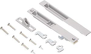 Wright Products V1195 Flush Style MOUNT PATIO DOOR LATCH, ALUMINUM