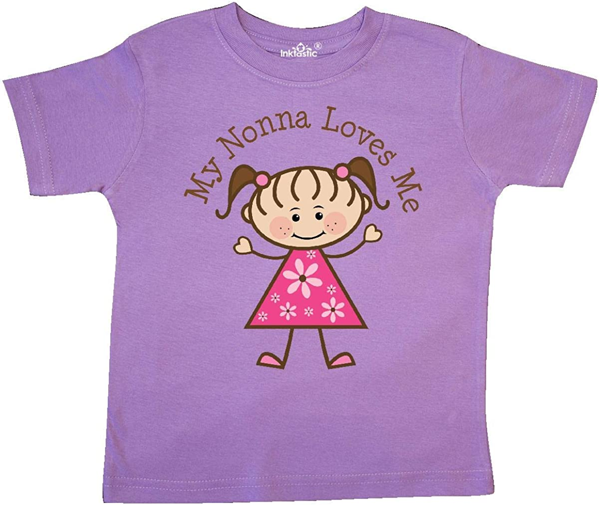 inktastic My Nonna Loves Me Toddler T-Shirt