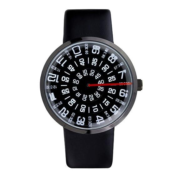 Ver la era digital/reloj de cristal tallado/forma digital creativa sol-C: Amazon.es: Relojes