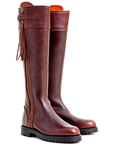 591c436d3e86 Penelope Chilvers Ladies  Long Leather Tassel Boots   Conker - 8 ...