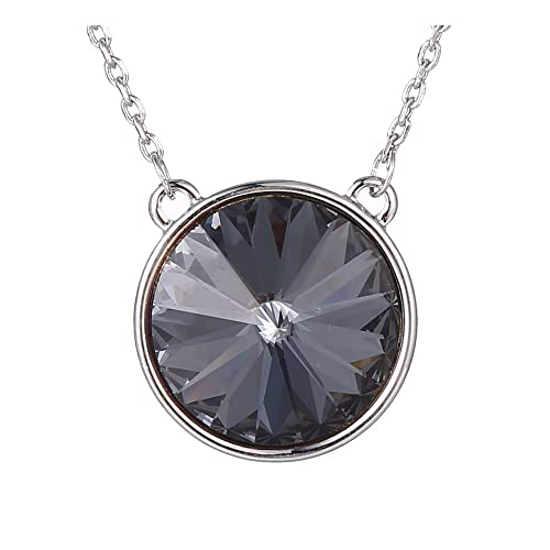 Amazon xuping silver color plated round shade pendant jewelry xuping silver color plated round shade pendant jewelry crystals from swarovski necklace with chain women halloween aloadofball Images