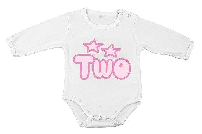 Mi Segundo cumpleaños Two niña recién Nacida Regalo Body de ...