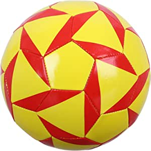 كرة قدم، مقاس 5 - اصفر واحمر