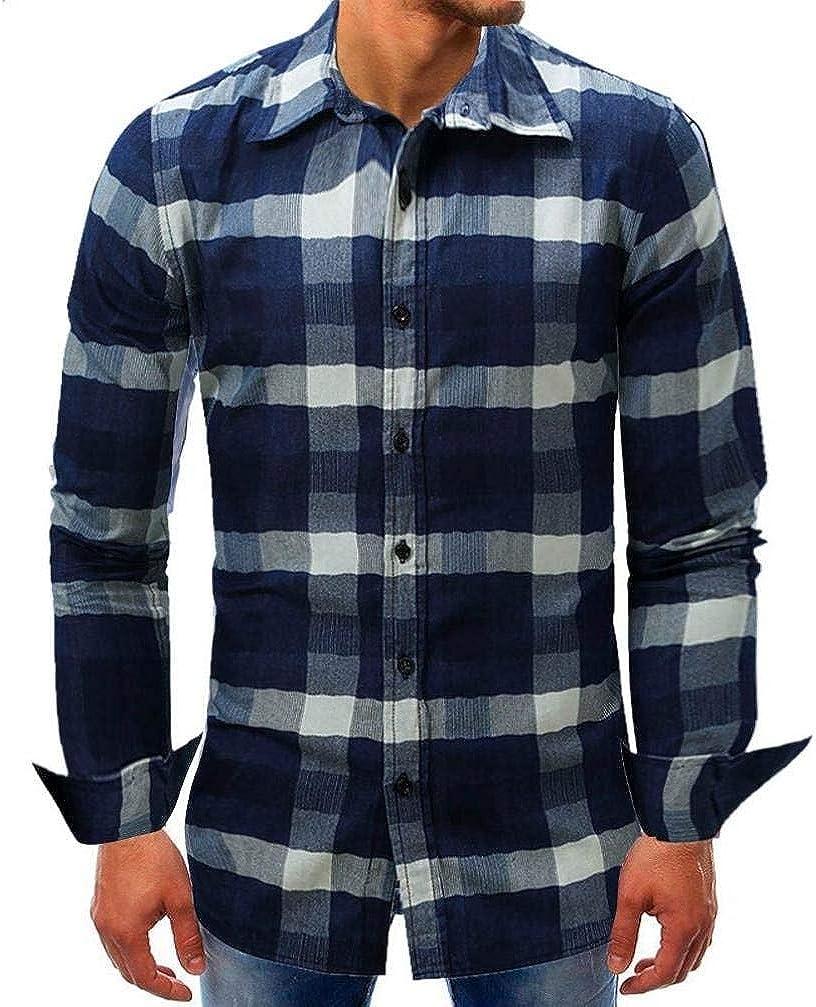 Camisa Extragrande De Manga Larga Oyeden Ajustada Fit Camisa Extra Slim Fitness Moda Completi para Hombre Gris Negro Caqui: Amazon.es: Ropa y accesorios