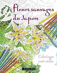 Fleurs sauvages du Japon coloriages anti-stress par Takako Honda