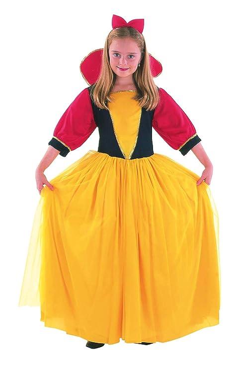 EL CARNAVAL Disfraz Blancanieves Talla de 8 a 10 años: Amazon.es ...