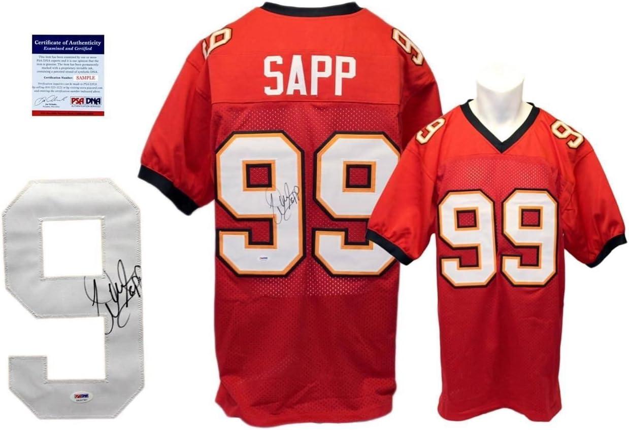 Warren Sapp Signed Jersey - PSA/DNA - Tampa Bay Buccaneers ...