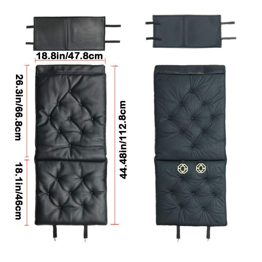 Black Comfortable Seat Pad for Home Office Travel Universal Car Cushion Pad Soft Car Seat Cushion Car Seat Pad