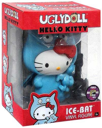 (Funko 2013 SDCC Comic-Con Exclusive Hello Kitty Ugly Doll 5 Inch Vinyl Figure Ice-Bat)
