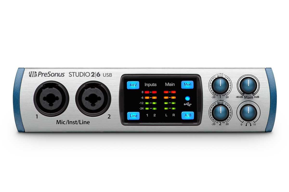 PreSonus オーディオインターフェイス Studio 2|6B073WVHFK4