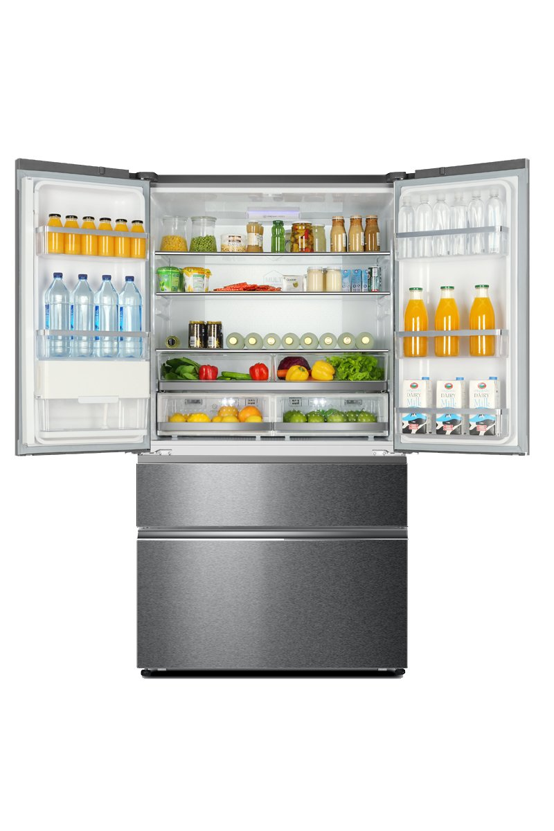 Haier HB25FSSAAA 4-Door Frost Free A++ American Fridge Freezer ...