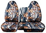 60 40 seat cover camo - Designcovers 1998-2003 Ford Ranger/Mazda B-Series Camo Truck Seat Covers (60/40 Split Bench) - No Armrest/Console: Gray Real Tree Camouflage (16 Prints) 1999 2000 2001 2002