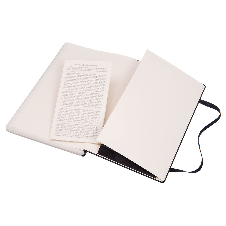 Taccuino Digitale con Pagine Puntinate e Copertina Rigida Large 13 x 21 cm Moleskine Notebook Paper Tablet Notebook Adatto allUso con Pen Moleskine+ Colore Nero