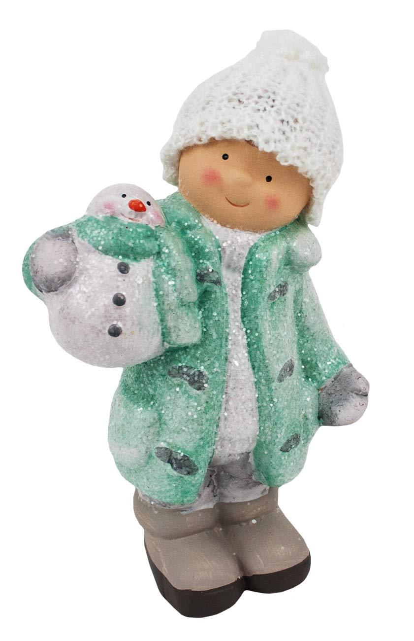 Valery Madelyn Funkelnder Winter Thema 18cm Stoff Weihnachten Deko