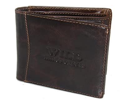 ea6179f6bb High quality genuine leather wallet Mens Leather Purse from Wild Things Only