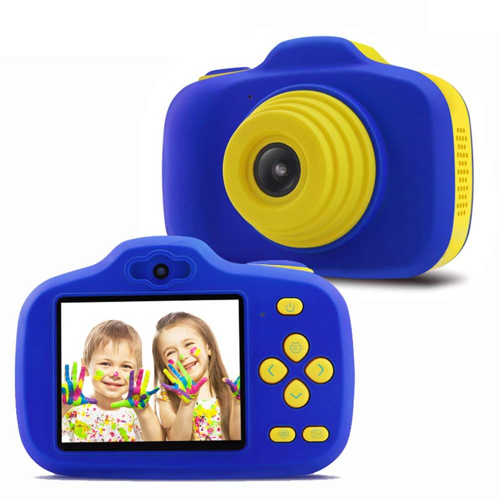 TONGTONG Enfants Appareil Photo numérique Cadeau pour Filles garçons HD 2,3 Pouces écran 12MP caméra vidéo pour Enfants Antichoc Enfants Selfie Jouet