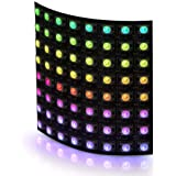 BTF-LIGHTING WS2812B RGB 5050SMD Individually Addressable Digital 8X8 64 Pixels 3.1in x 3.1in LED Matrix Panel Flexible…