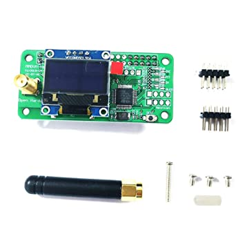 For MMDVM Hotspot Multi-mode D-STAR P25 DMR board with OLED antenna 8G card