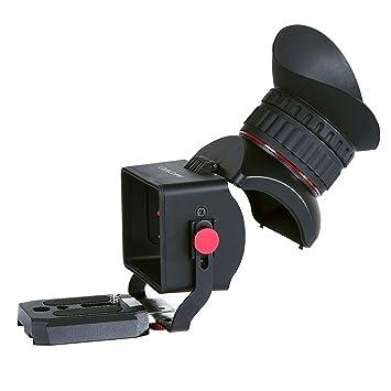 Sevenoak SK-VF Pro1 3.0 x aumentos, pantalla LCD de vídeo visor ...