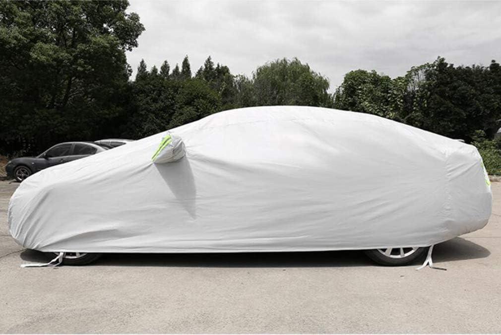 HCYTPL Bache voitureCar Cover Heavy Duty 420D Oxford Coupe-Vent r/ésistant /à la Protection UV ext/érieure Pleine Voiture Covers Compatible avec Cadillac,Gris,XT4