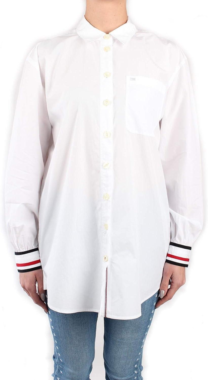 Tommy Hilfiger WW0WW27483 Camisas Mujer 36: Amazon.es: Ropa y accesorios