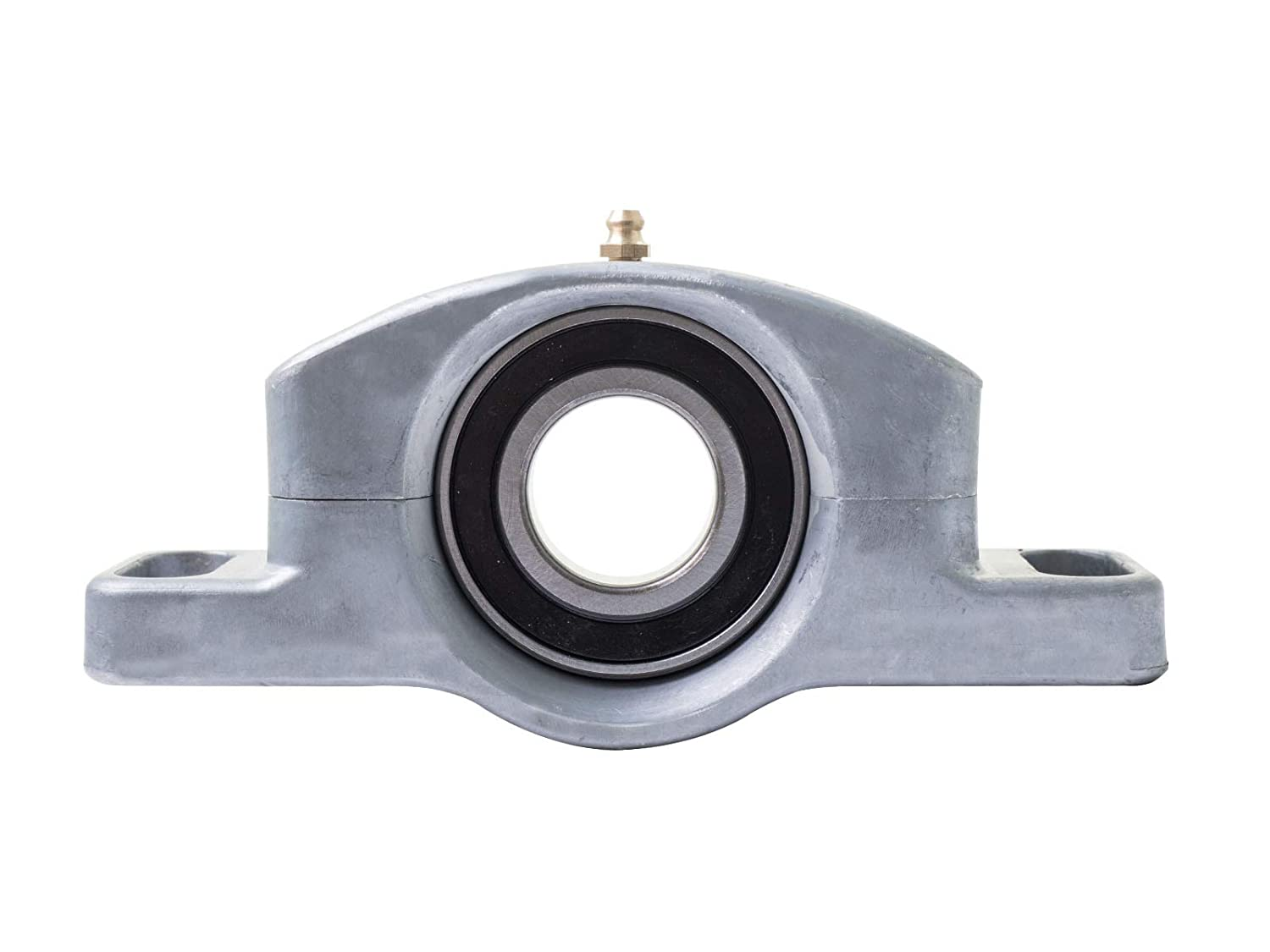 SuperATV Heavy Duty Cast Aluminum Carrier Bearing for Polaris RZR S 1000 2016+ Greaseable and Self Aligning! S4 1000