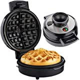 Andrew James Volcano 4 Slice Waffle Maker for Deep Belgian Waffles | Includes Recipes | Easy to Use Electric Machine with Non-Stick Plates & No Mess Funnel | Exclusive Award Winning Design