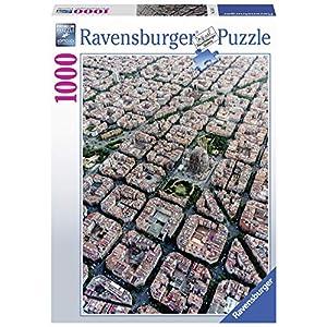 Ravensburger Barcellona Vista Dallalto Puzzle Da Adulti Multicolore 1000 Pezzi 15187