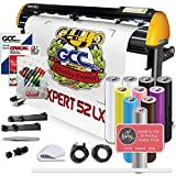 GCC Professional Expert II LX Vinyl Cutter 52 Inch Wide Creative Bundle Stand & Aligning System Contour Cutting