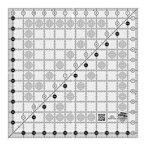 "Creative Grids 12.5"" Square Quilting Ruler Template [CGR12]"