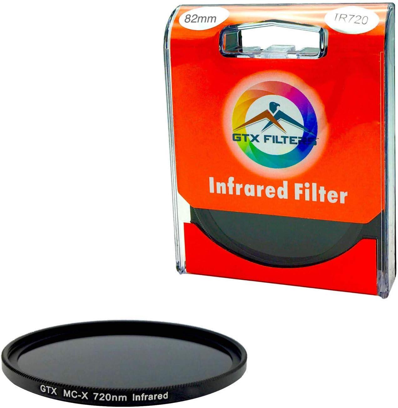82mm X-Series IR720 IR 720nm Infrared Filter for Camera Lens Digital DSLR SLR