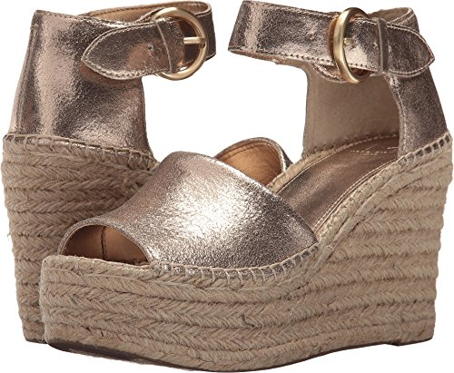 - Marc Fisher LTD Women's Alida Espadrille Wedge Gold Leather 7 M US