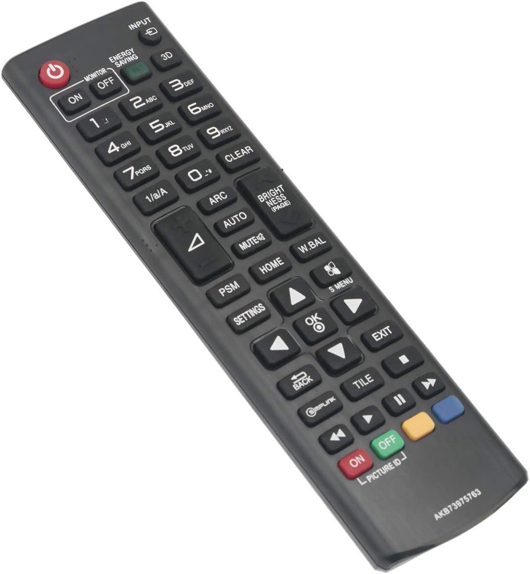 ORIGINAL AKB73975763 LG TV Remote Control for 22SM3B-B 32LS53A-5B 32SM5B-B