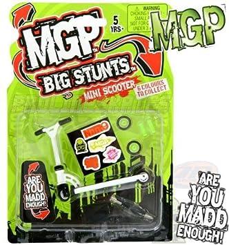 Madd Gear MGP Big Stunts - Patinete de dedos blanco blanco ...