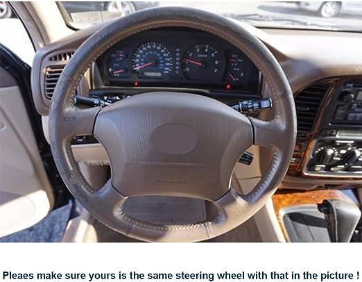 Funda para volante de piel para para coser a mano Old Toyota Land ...