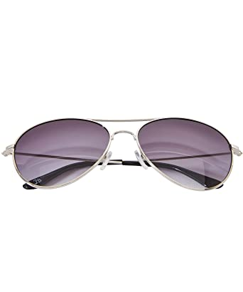 4a21e1366b Joe Browns Silver Frame Classic Aviator Sunglasses with Smoke Lenses and UV  Protection Silver One Size