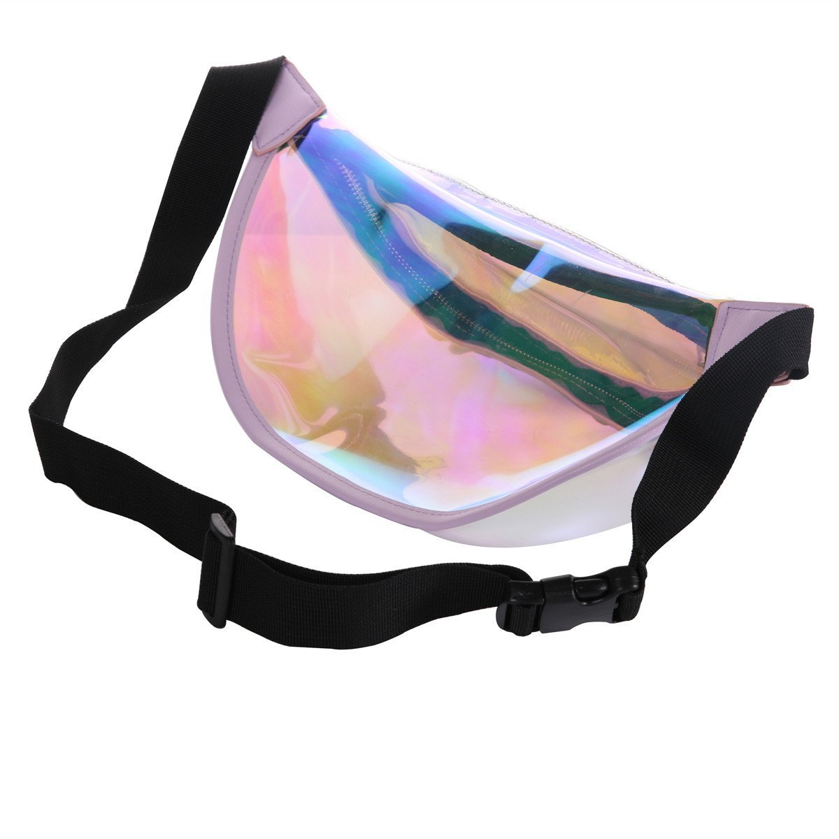 Transparent Waist Pack RIDPIX Fanny Pack Fashion Waist Bag With Adjustable Belt For Travel Party Rave Festival