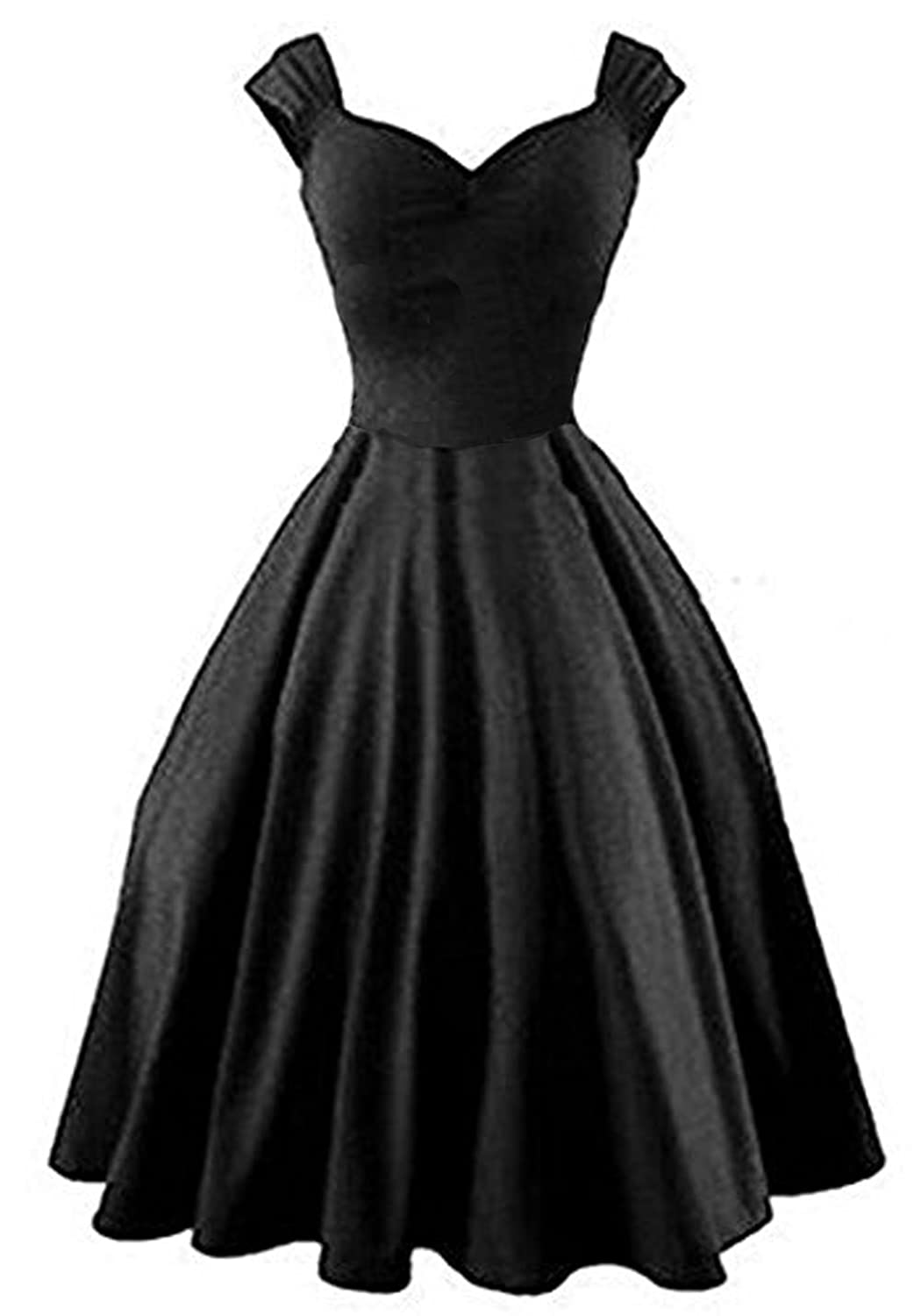 Amazon.com: 50s Vintage Style Rockabilly Swing Picnic Evening ...