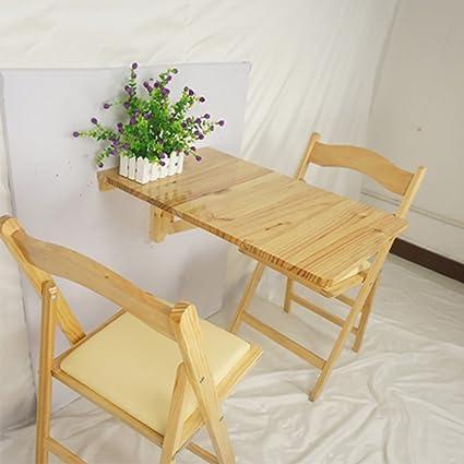 Scrivanie WSSF- Tavolo da cucina pieghevole da parete Tavolo Tavolo ...