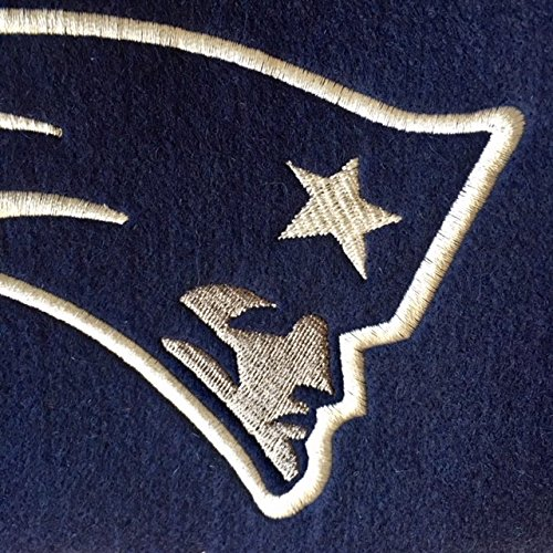 Heritage Banner x 32 in Caseys Distributing 7408844030 New England Patriots Wool 8 in