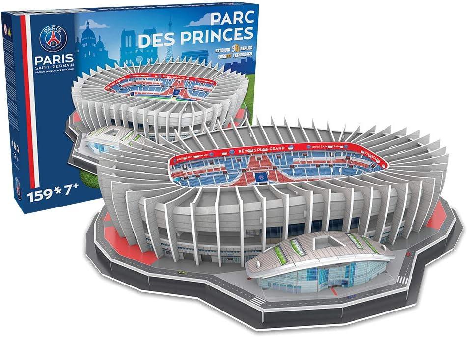 Estadio Parque De Los Principes Paris Saint Germain Nanostad Puzzle 3d Producto Oficial Licenciado Amazon Es Juguetes Y Juegos