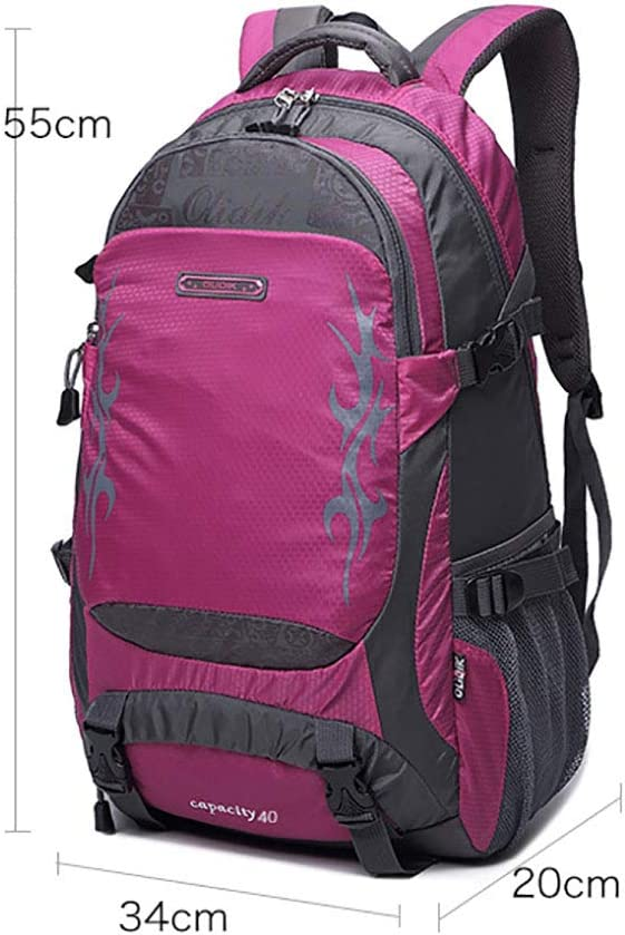 Shan Travel Backpack Large Capacity Backpack Leisure Travel Backpack Female Lightweight Waterproof Outdoor Mountaineering Bag