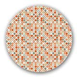 Autumnal Star Bingo Lazy Susan: Medium, Light Bamboo Turntable Kitchen Storage Custom Printed