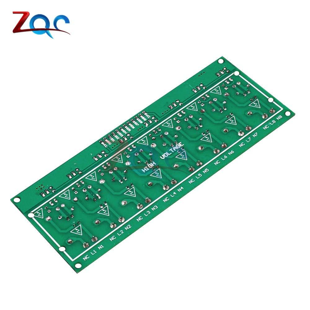 AC 220V 8 Channel MCU TTL Level 8 Ch Optocoupler Isolation