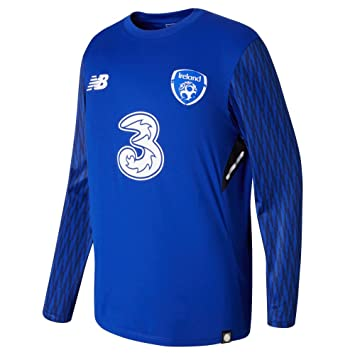 5b5b45823 New Balance Boys' Offical Fai Merchandise Ireland 3rd Goalkeeper Jersey,  Blue, Medium